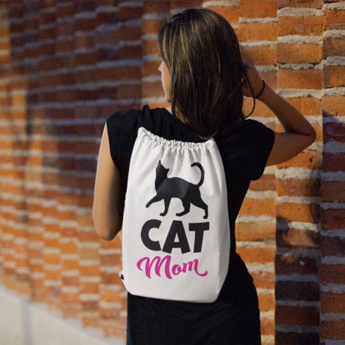 Cat mom tornazsák